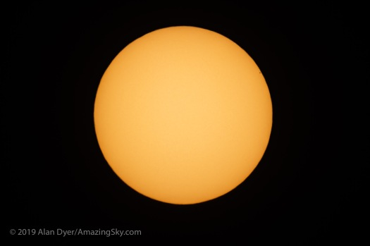 The Transit of Mercury Across the Sun (11 am MST)
