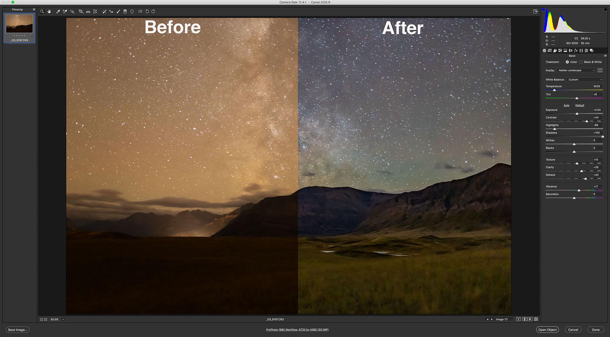 7-Camera Raw Comparison