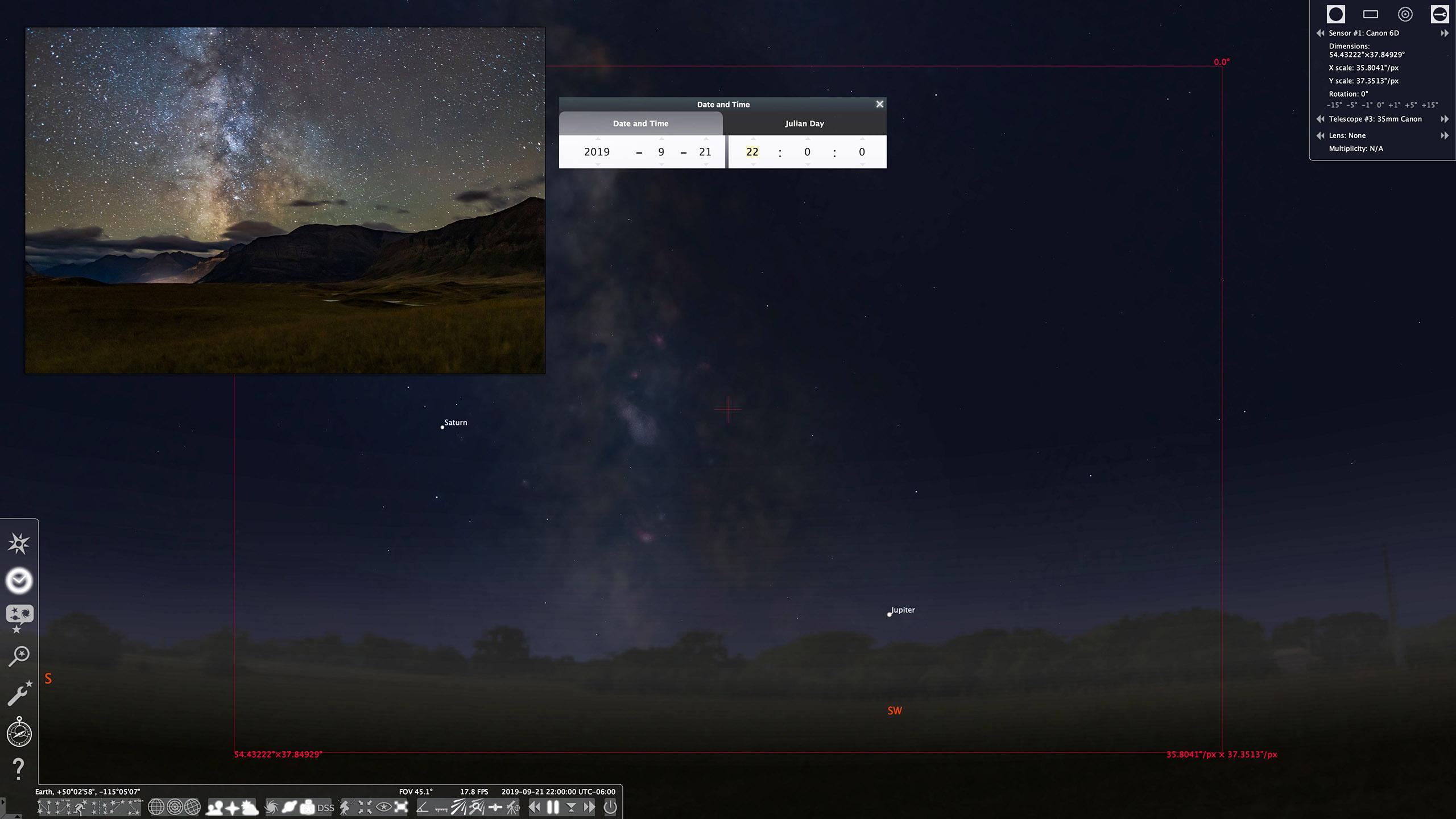8C-Stellarium Start