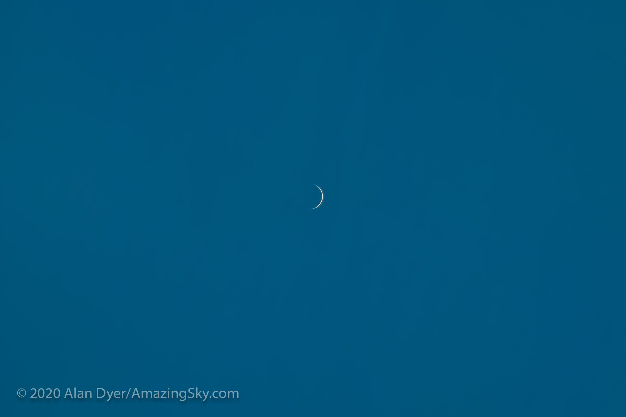 Venus Near Inferior Conjunction (May 29, 2020)